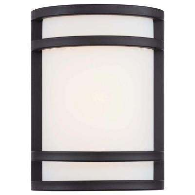 Bay View Bronze Outdoor LED Pocket Lantern