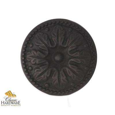 Bosetti Marella 1.22 in. Diameter Louis XVI Oil Rubbed Bronze Round Knob