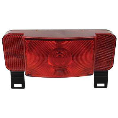 Driver Side LED Combination Tail Light in Black