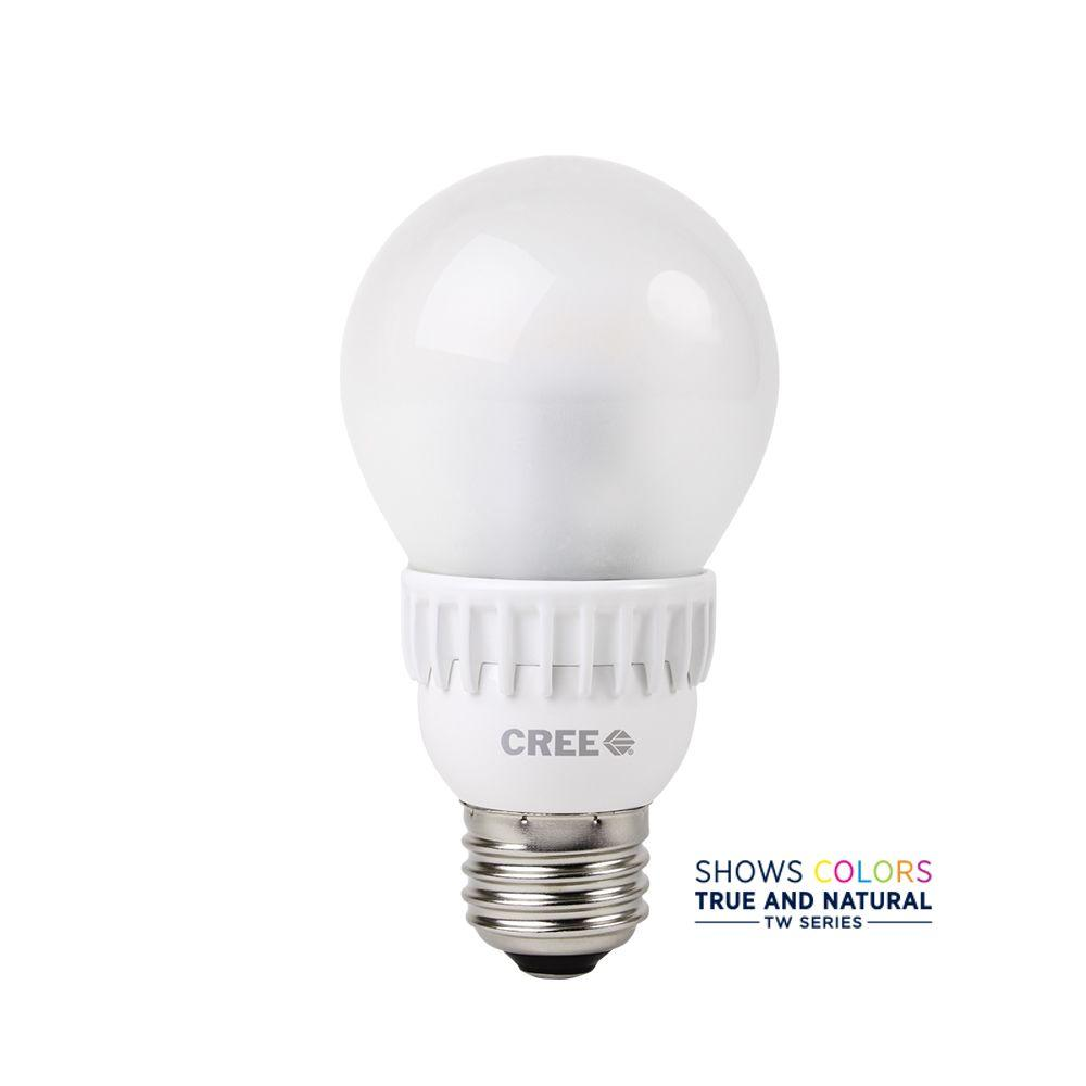20w Led Bulb A19: TW Series 40W Equivalent Soft White (2700K) A19 Dimmable