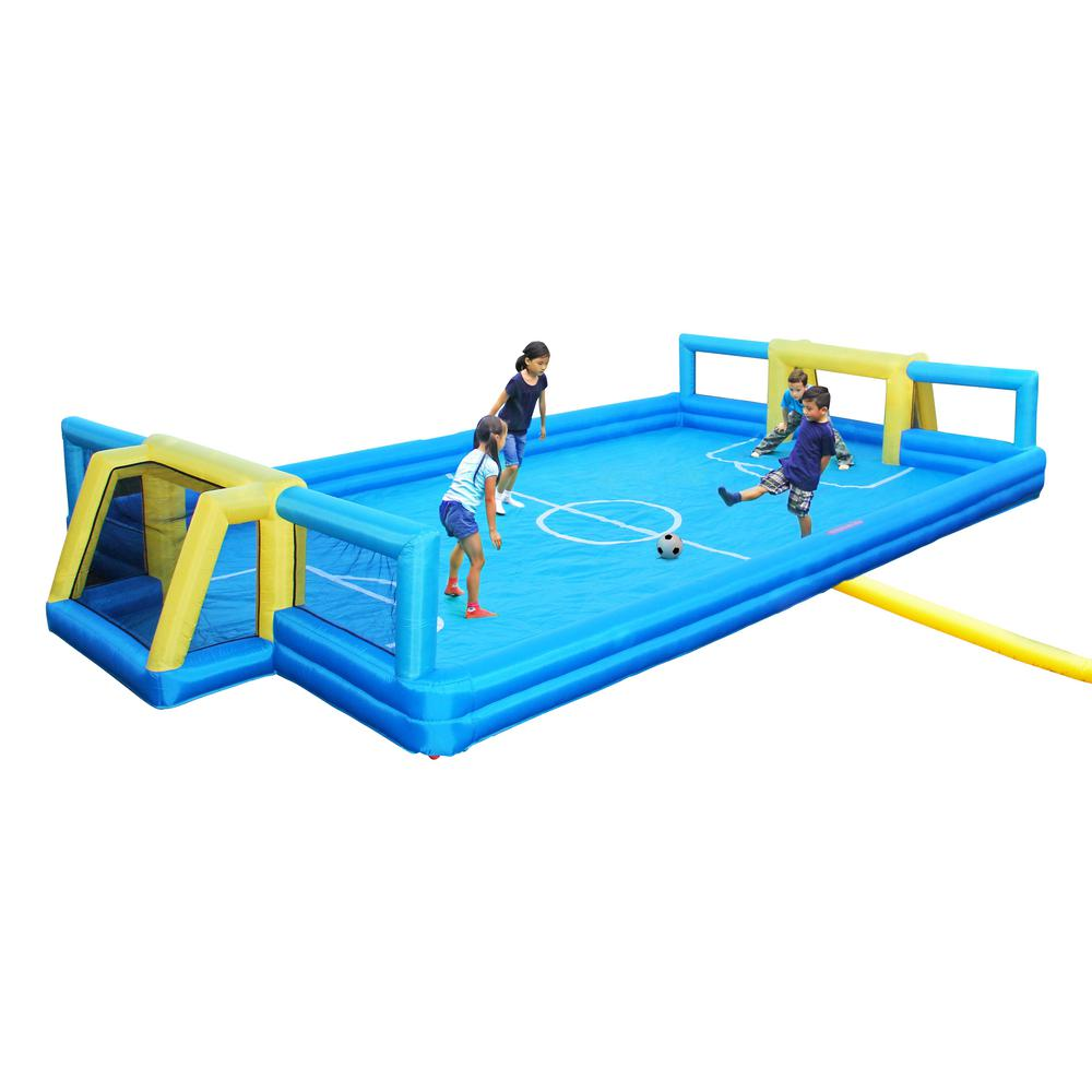 Sportspower Inflatable Soccer Field, Multi