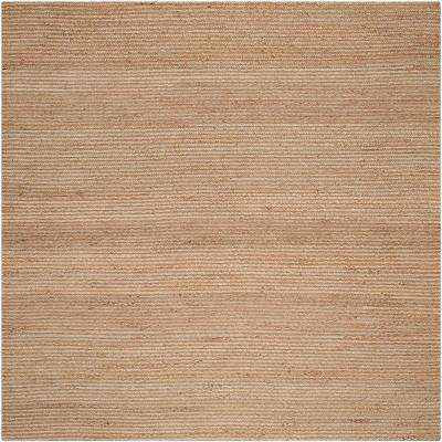 Cape Cod Natural 8 ft. x 8 ft. Square Area Rug