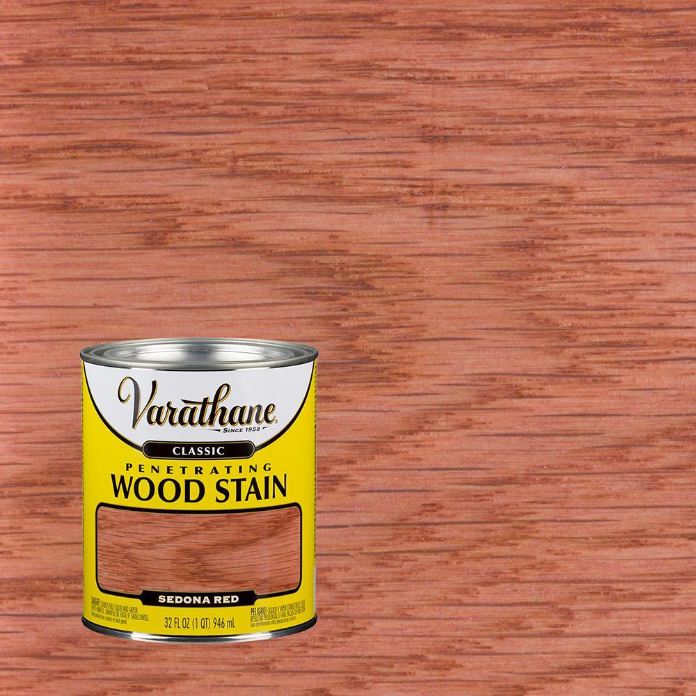 1 qt. Sedona Red Classic Wood Interior Stain