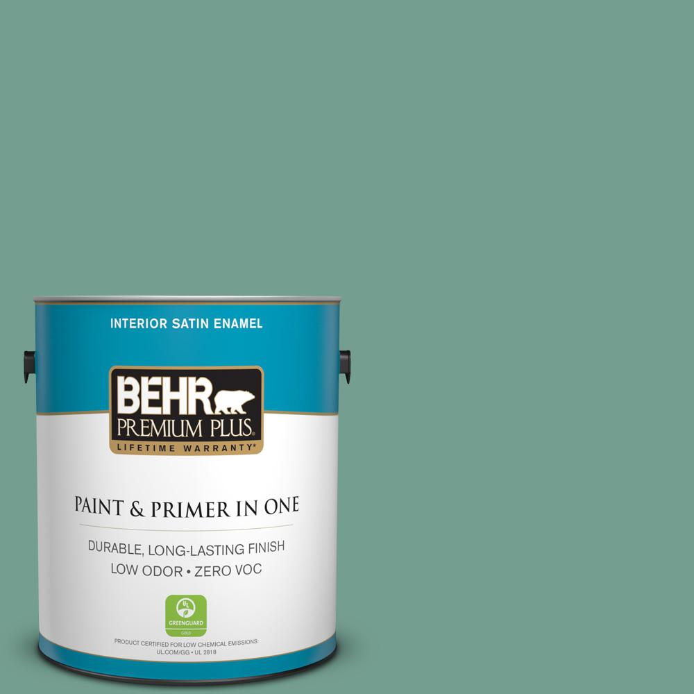 1-gal. #M430-5 Regal View Satin Enamel Interior Paint
