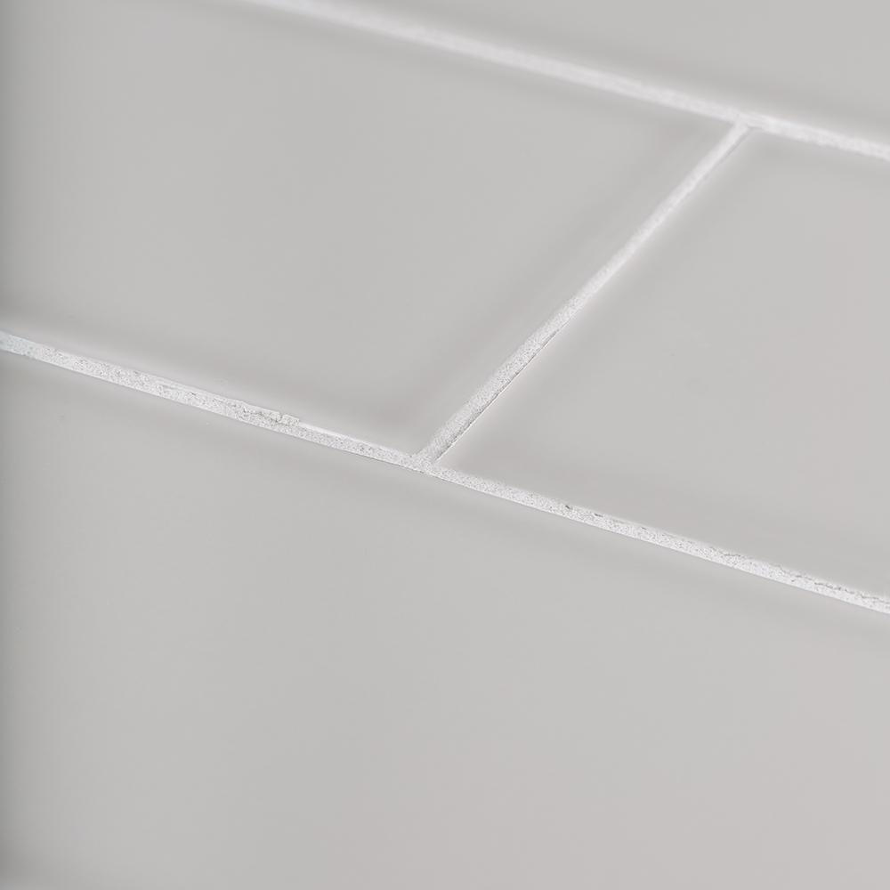 Jeffrey Court Weather Grey 4 in. x 12 in. Glossy Ceramic Wall Tile (10.33 sq. ft. / case)
