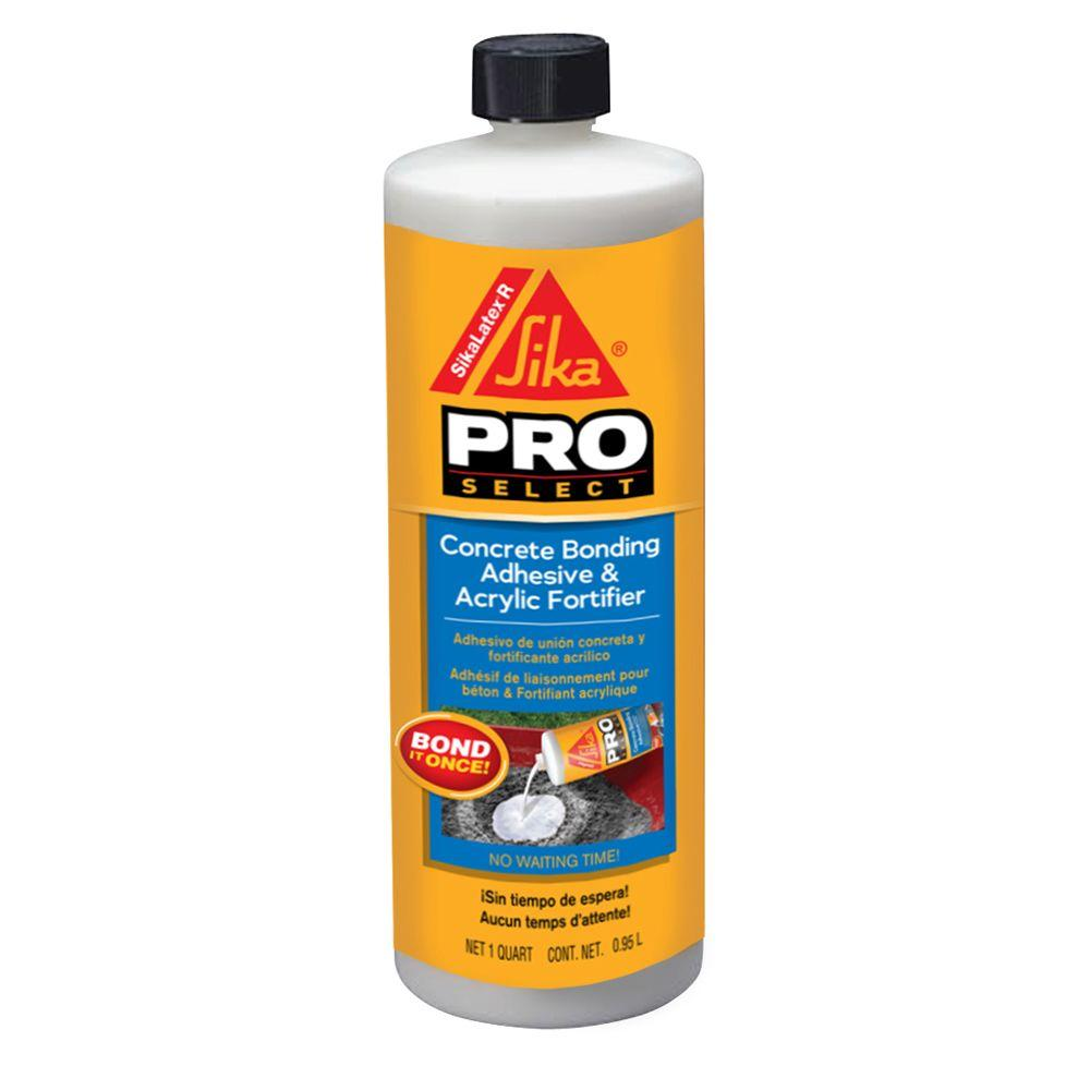 Sika 1 Qt Concrete Bonding Adhesive And Acrylic Fortifier