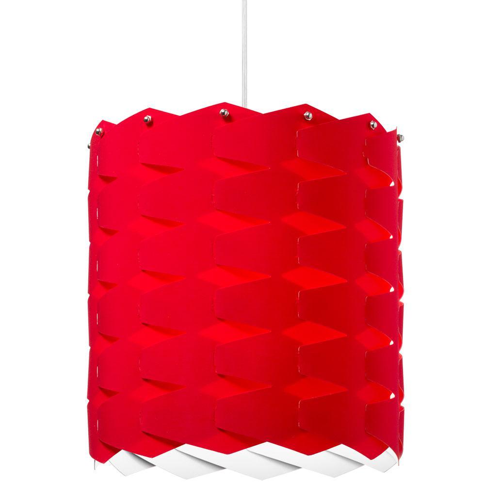 1-Light Red Pendant
