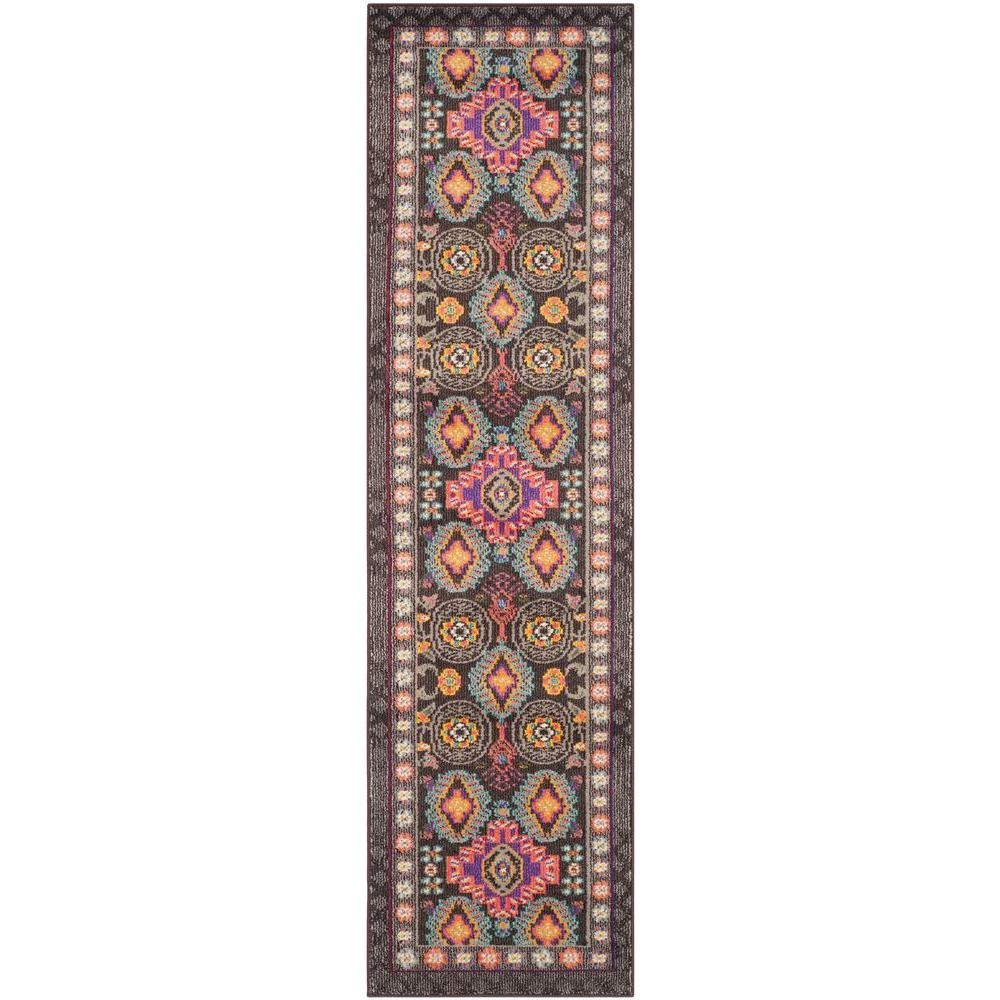 Safavieh Monaco Brown/Multi 2 ft. x 8 ft. Runner Rug