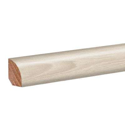 Soft Oak Glazed/Glazed Oak 0.62 in. Thick x 0.75 in. Wide x 94.5 in. Length Laminate Quarter Round Molding