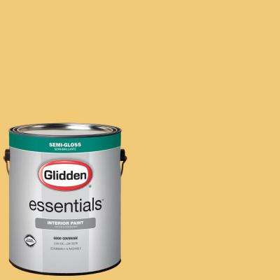1 gal. #HDGY27U Ginger Ale Semi-Gloss Interior Paint
