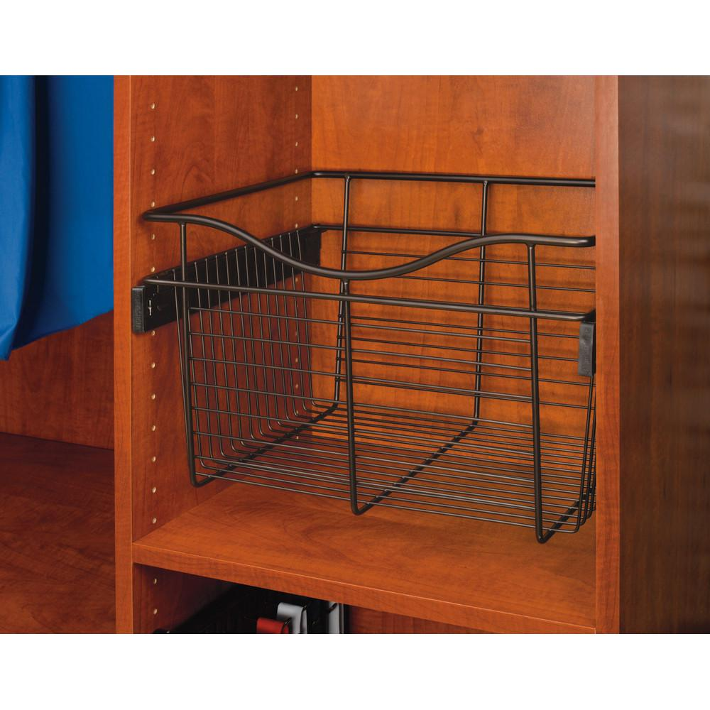 Oil Rubbed Bronze Pull Out Basket Cb 182018orb 1 The Home Depot