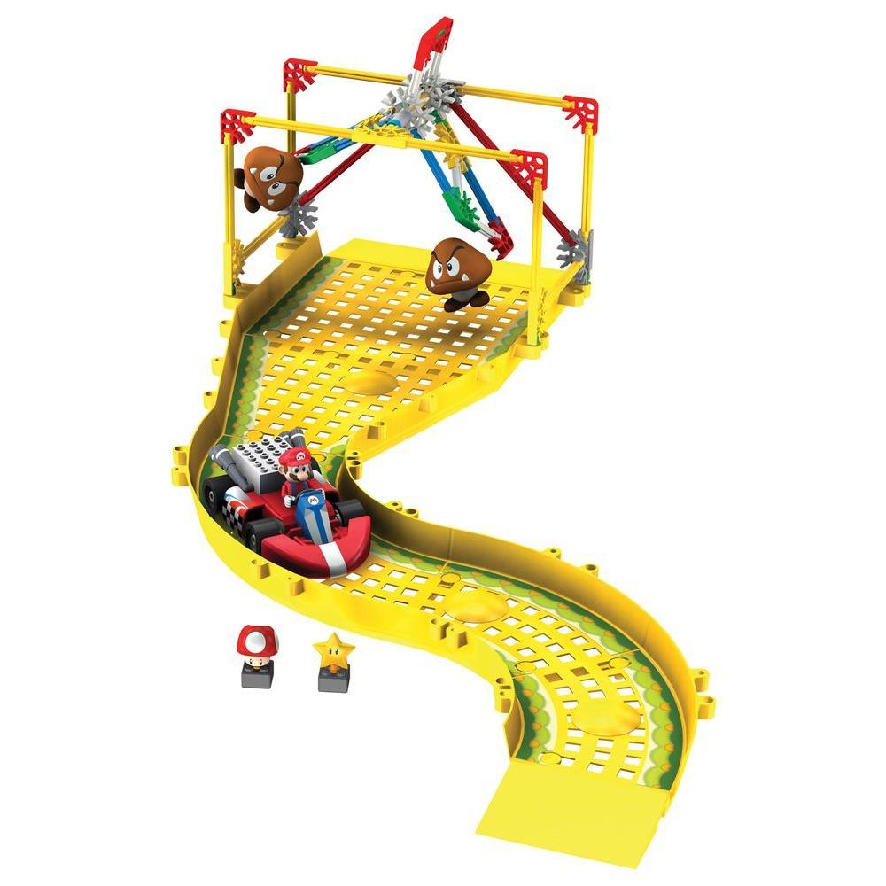 K'NEX Mario Kart Wii Mario Vs Goombas Building Play Set