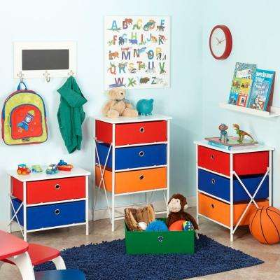 Sort and Store Kids 4-Drawer White Chest