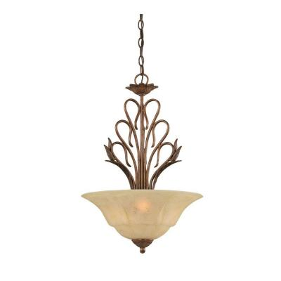 Concord 3-Light Bronze Pendant