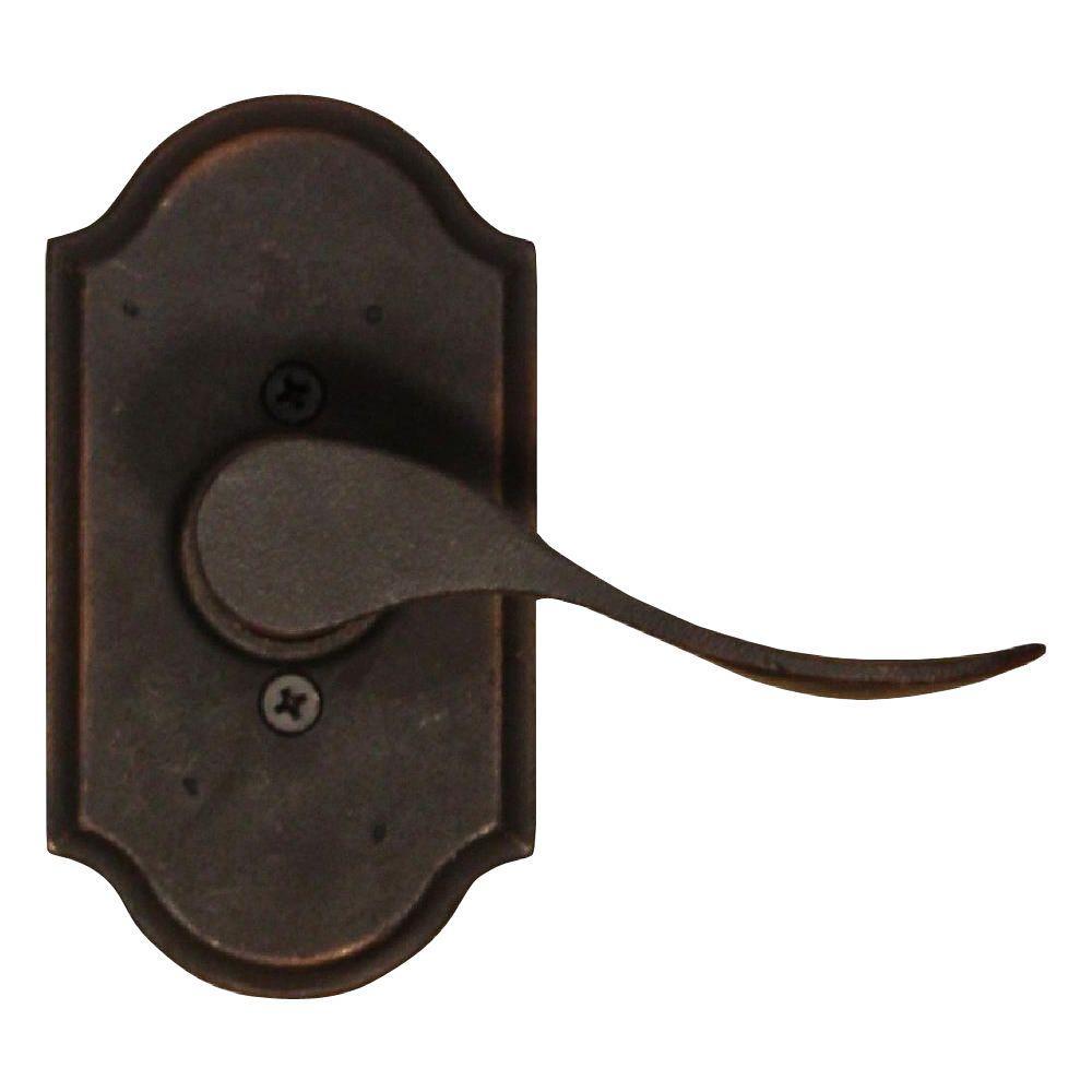 Molten Bronze Oil-Rubbed Bronze Right-Hand Premiere Half-Dummy Carlow Lever