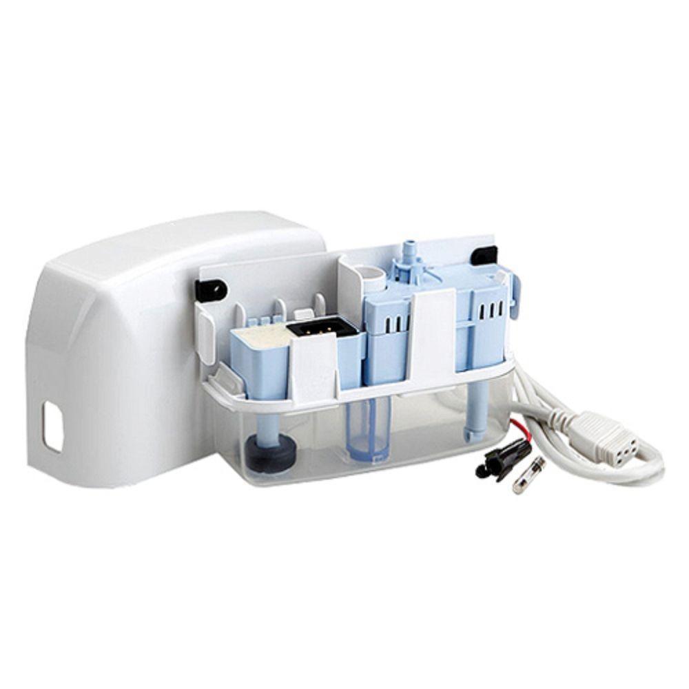 RectorSeal Aspen Mini White 115/208-230-Volt Condensate Pump for Ductless Mini-Split Indoor Units Up to 2-1/2 Tons