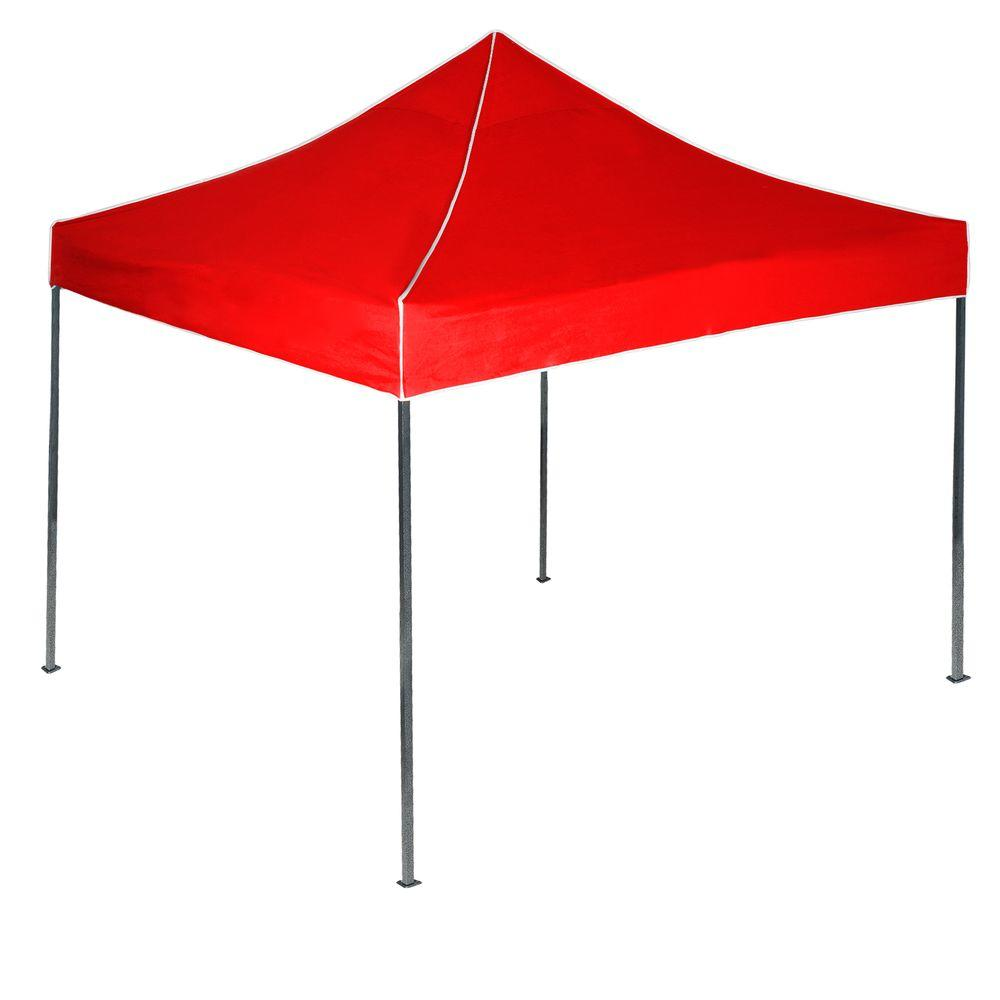 Canopy Tent in Red  sc 1 st  Home Depot : home depot pop up tent - memphite.com
