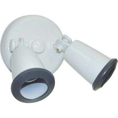 Tony 2-Light White Flood Light