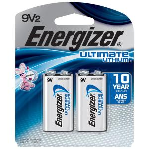 Energizer Ultimate Lithium 9-Volt Battery (2-Pack) by Energizer