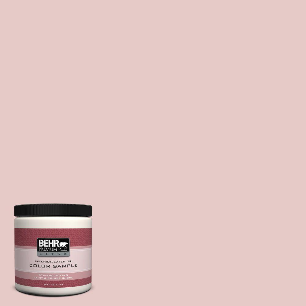 BEHR Premium Plus Ultra 8 oz. #170E-2 Blush Beige Interior/Exterior Paint Sample