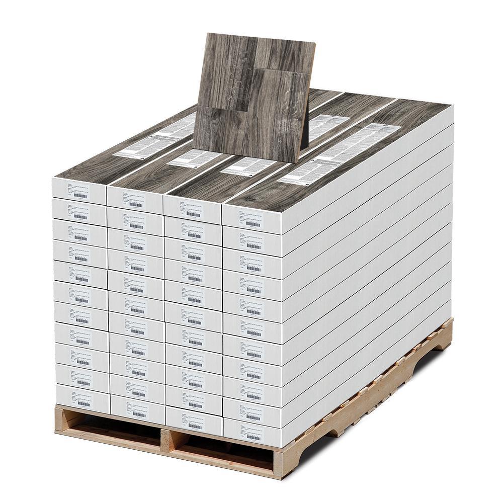 EIR Cliffborn Black Oak 12 mm Thick x 7-1/2 in. Wide x 50-2/3 in. Length Laminate Flooring (810.48 sq. ft. / pallet)