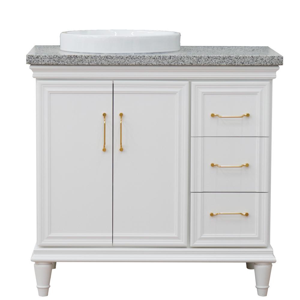 Bellaterra Home 37 In W X 22 In D Single Bath Vanity In White