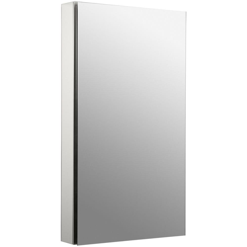 Catalan 20 in. Recessed or Surface Mount Medicine Cabinet in Satin