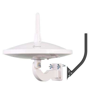 UFO 720 Dual-Omni Reception Outdoor HDTV Antenna with Smartpass Includes Pole Mount