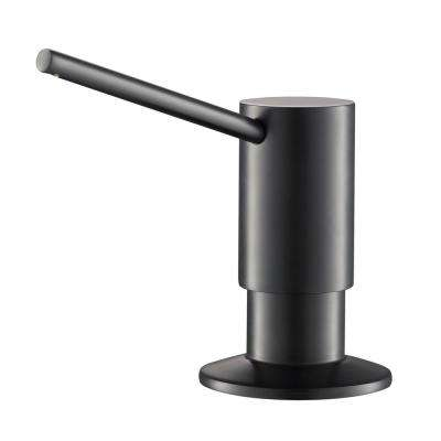 Kitchen Soap Dispenser in Matte Black