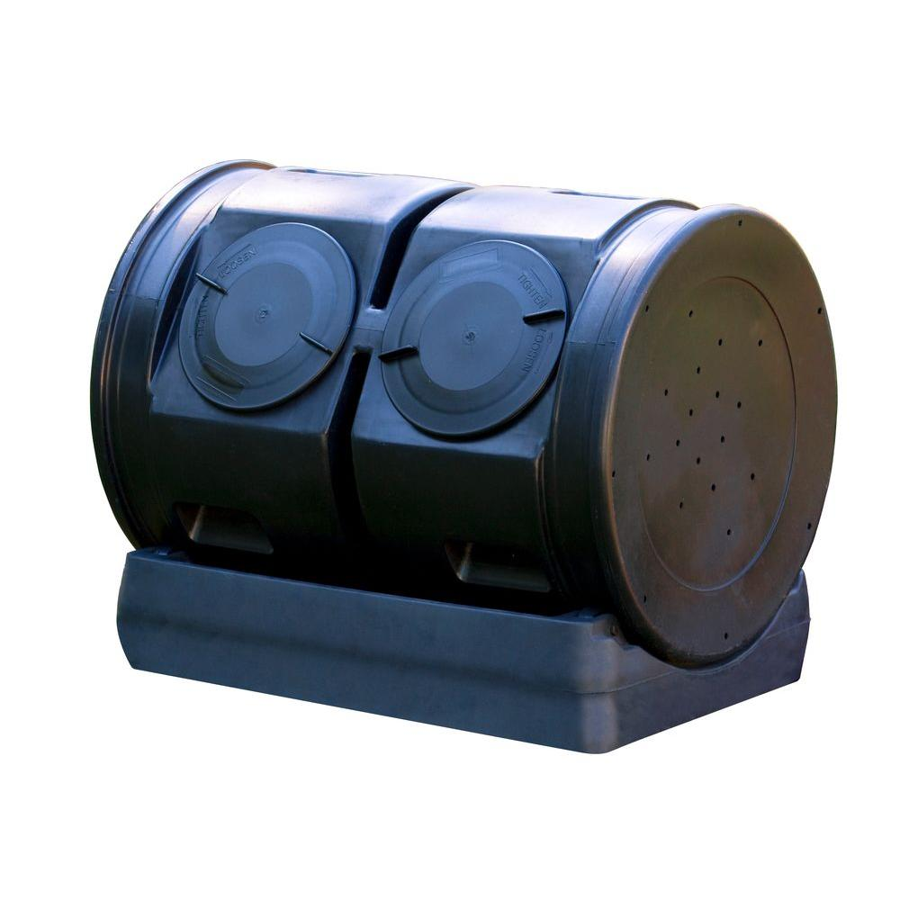 null 50 gal. Compost Wizard Dueling Tumbler
