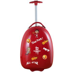 NBA Houston Rockets Red 18 in. Kids Pod Luggage