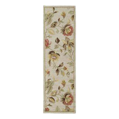 Khazana Savannah Linen 2 ft. x 8 ft. Runner Rug
