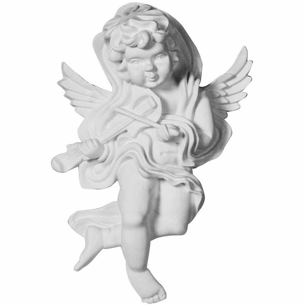 2-3/8 in. x 4-1/2 in. x 7-1/8 in. Polyurethane Classic Angel