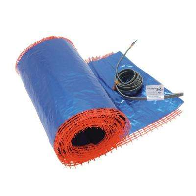 9-1/2 ft. x 16 in. Underfloor Radiant Floor Heating Mat