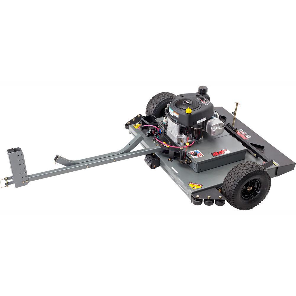 44 in  11 5 HP Briggs and Stratton Electric Start Finish-Cut Trailmower
