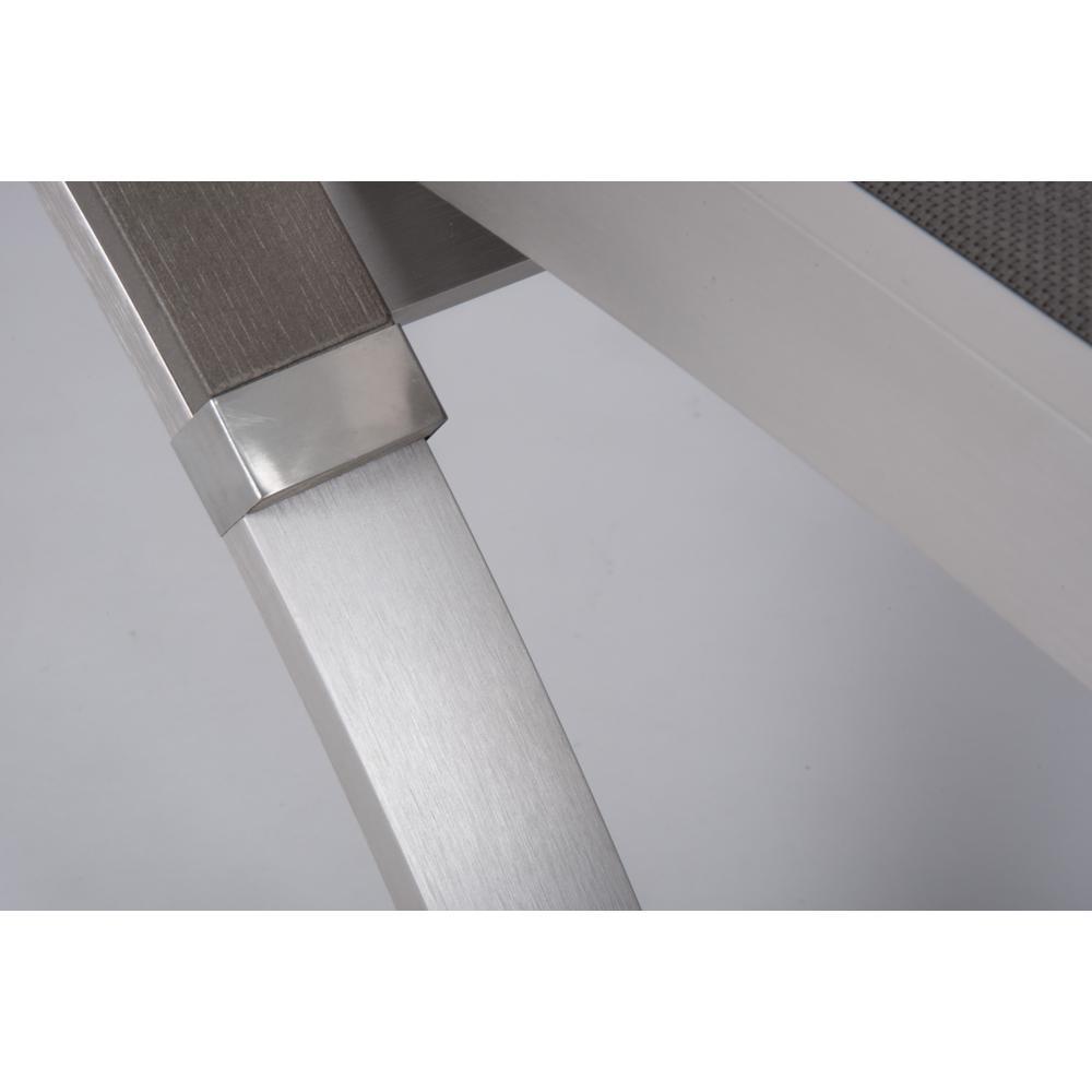 5-Pack 16x16 Do Not Enter CGSignLab Classic Brown Premium Brushed Aluminum Sign