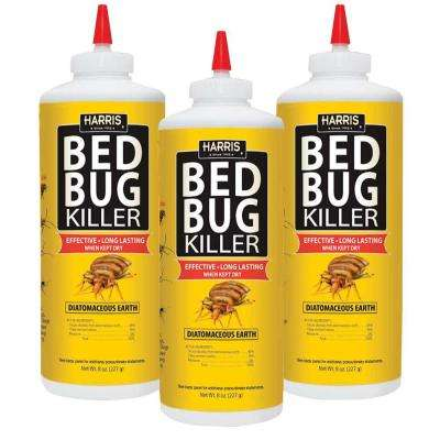 8 oz. Diatomaceous Earth Bed Bug Killer (3-Pack)