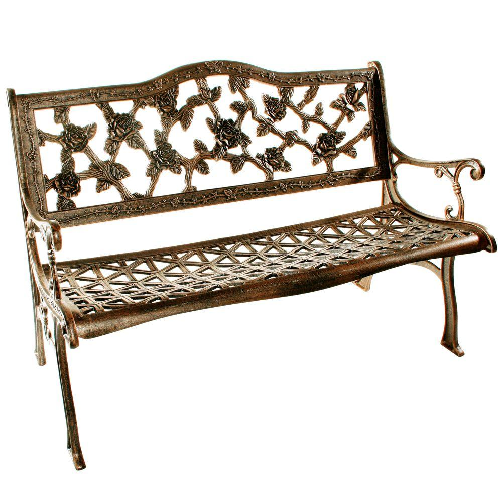 Oakland Living English Rose Patio Bench