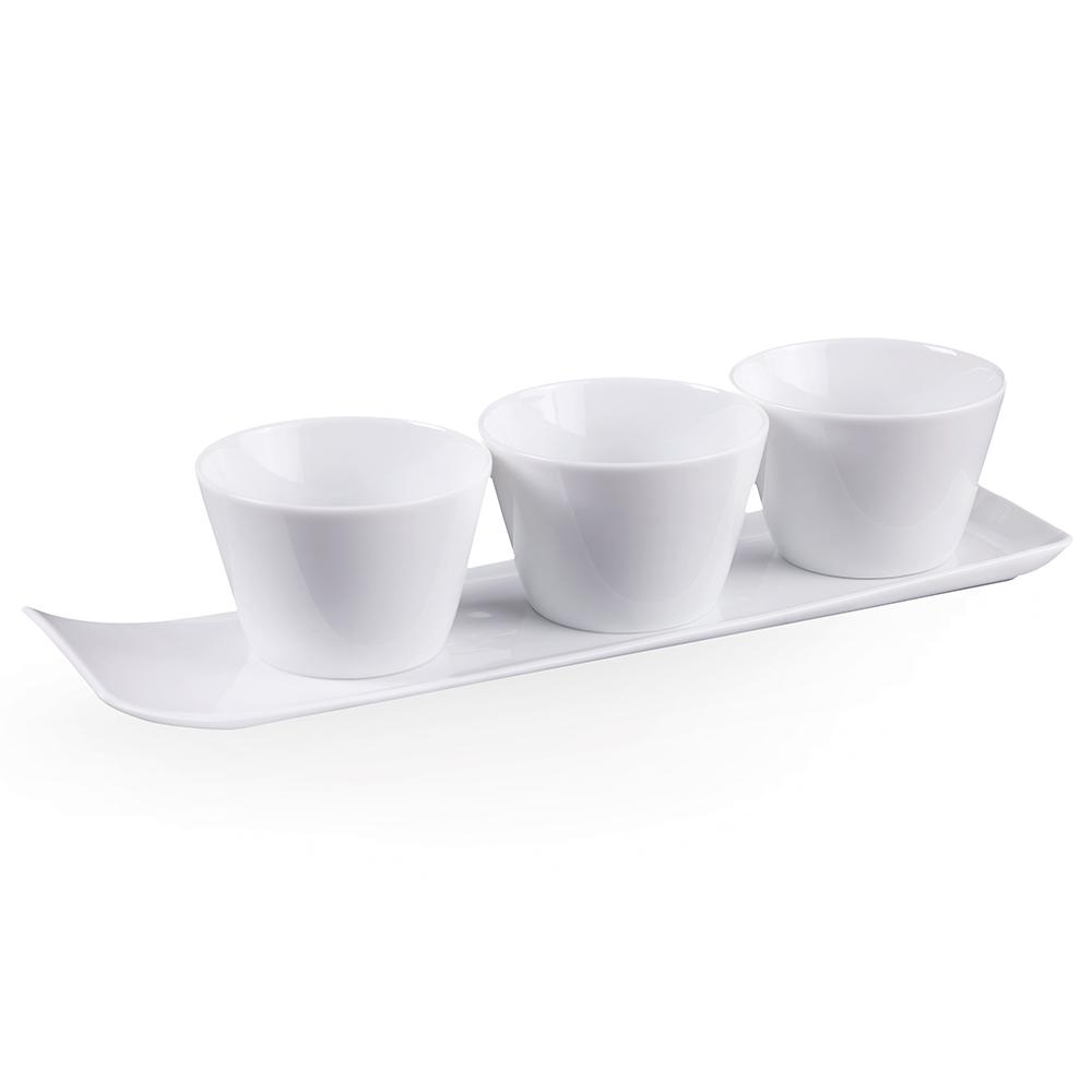 villeroy boch group vivo fresh collection 4 piece white serving set 1952528475 the home depot. Black Bedroom Furniture Sets. Home Design Ideas