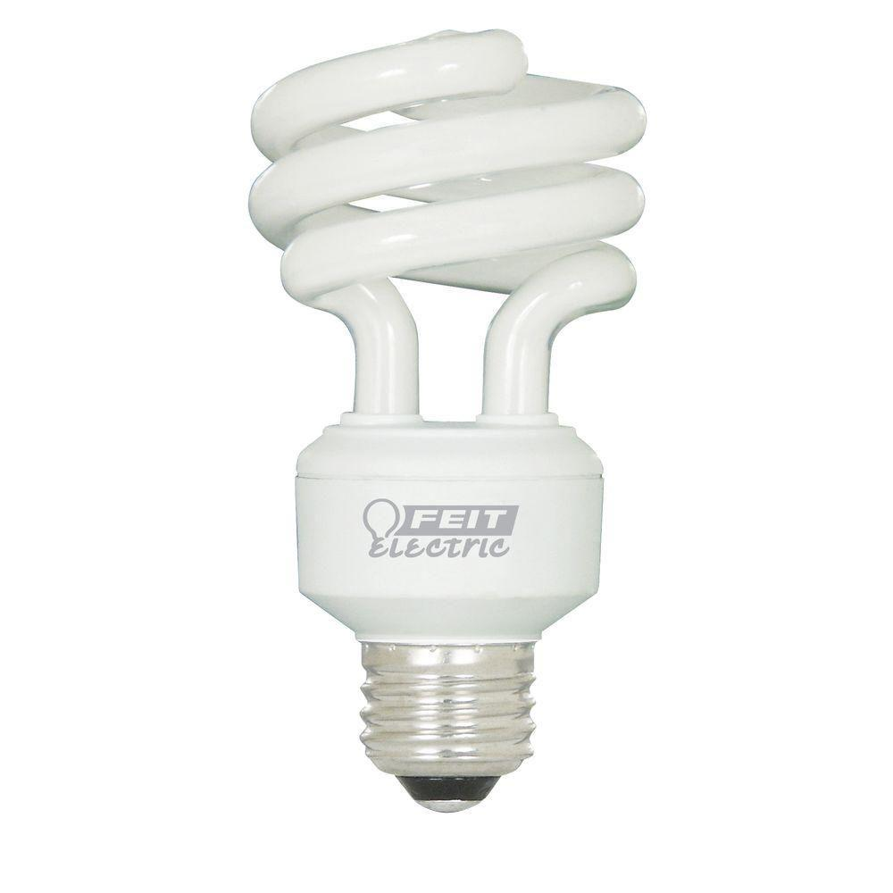 Feit Electric 75W Equivalent Soft White Spiral CFL Light Bulb (24-Pack)