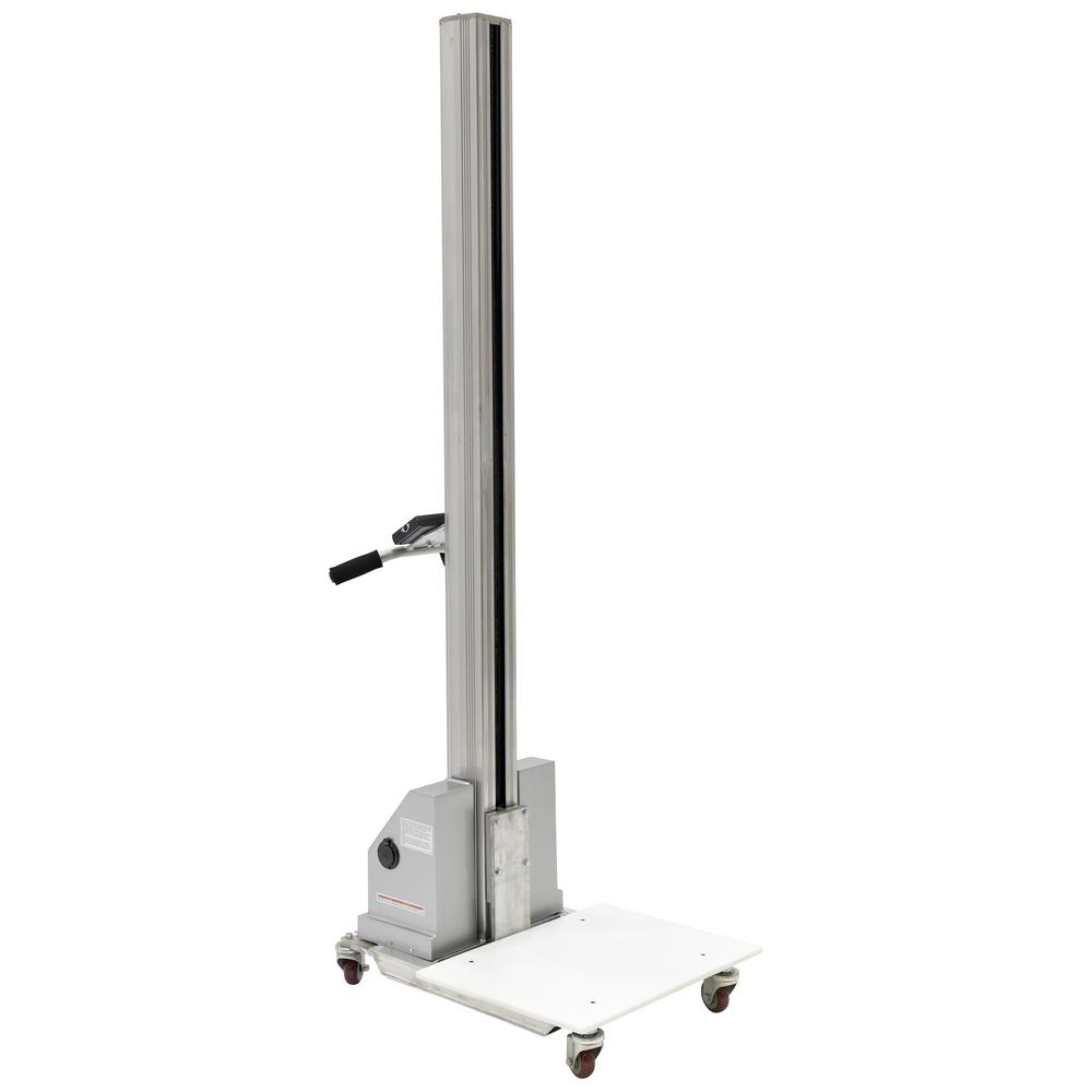 175 lb. Capacity 57 in. Tall DC Powered Aluminum Quick-Lift