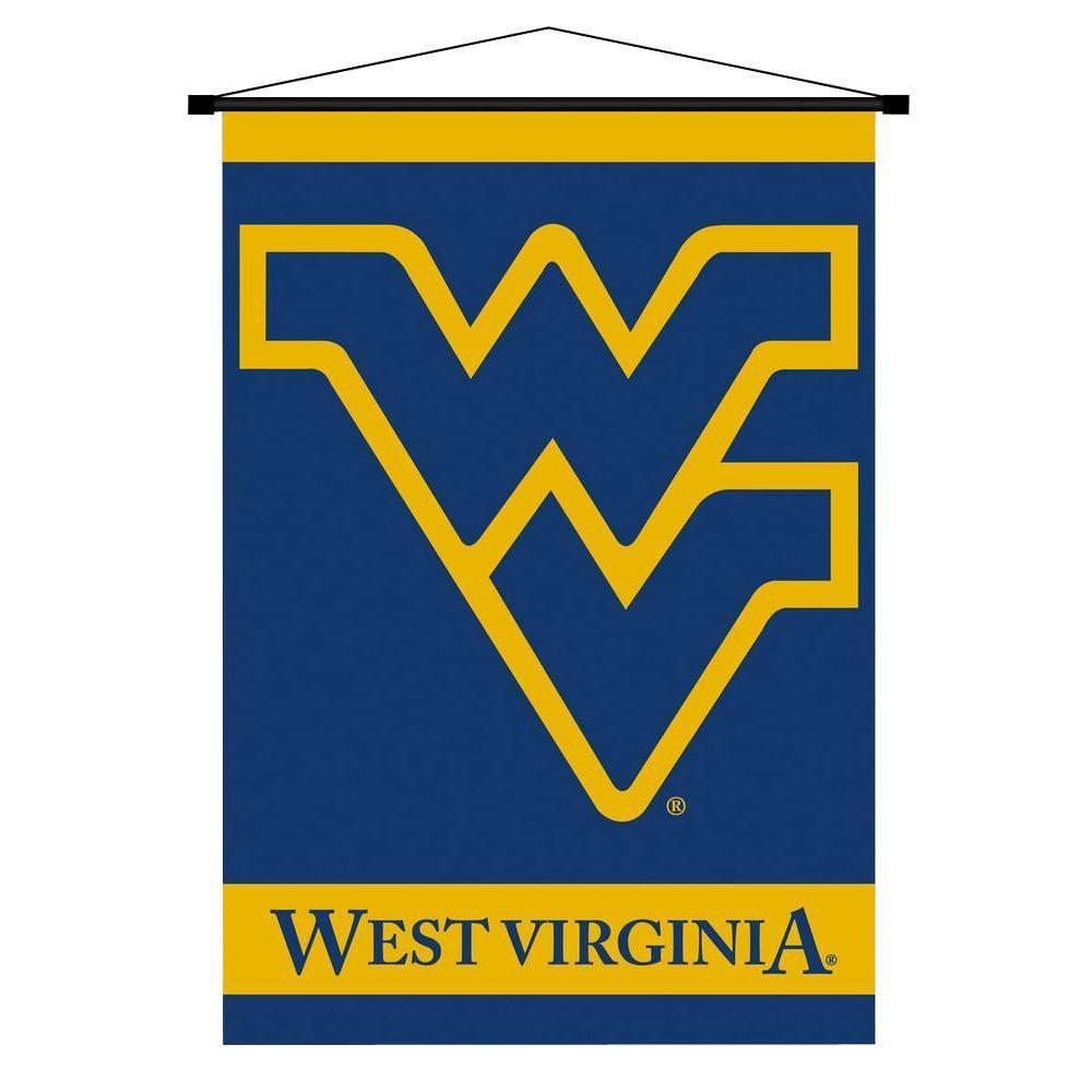 BSI Products NCAA West Virginia Mountaineers Indoor 3 ft. 3 in. x 2 ft. 3 in. Banner Scroll