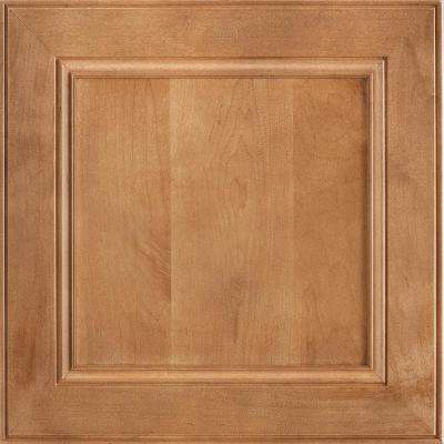 14-9/16 x 14-1/2 in. Cabinet Door Sample in MacArthur Maple Spice