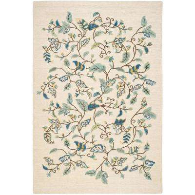Martha Stewart Colonial Blue 8 ft. x 10 ft. Area Rug