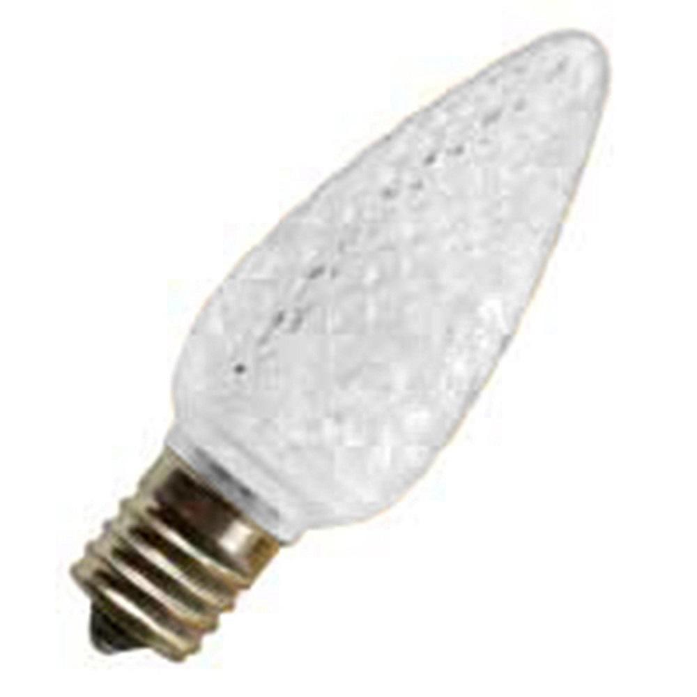 5W Equivalent Soft White C9 LED Light Bulb (25-Pack)