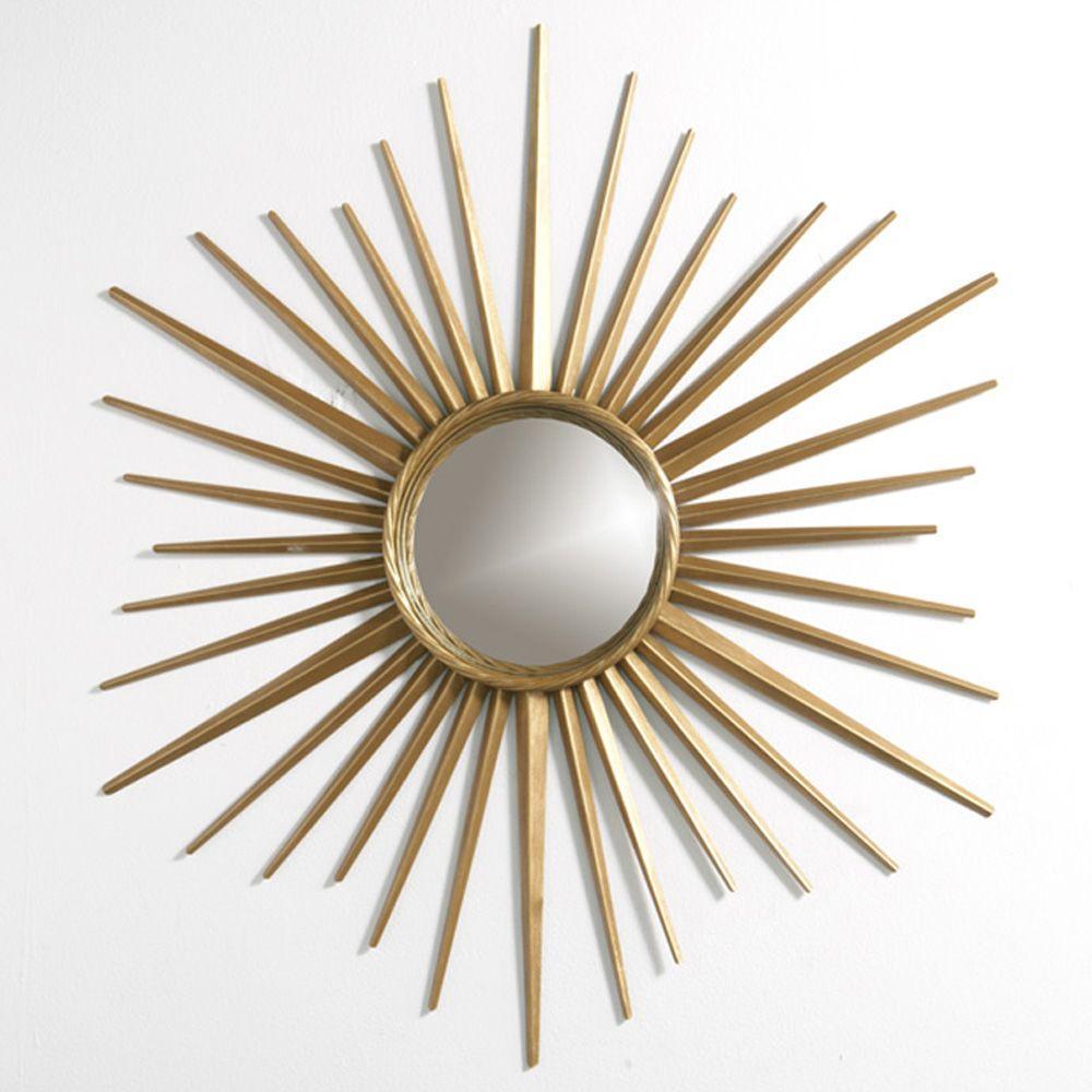 b591dd9c1ee6 Store SKU  236109. Martha Stewart Living Wales 30 in. x 30 in. Metal  Antique Gold Framed Mirror