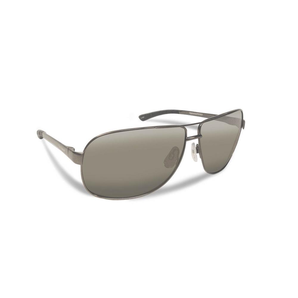 Highlander Polarized Sunglasses Gunmetal Frame with Smoke Lens ...