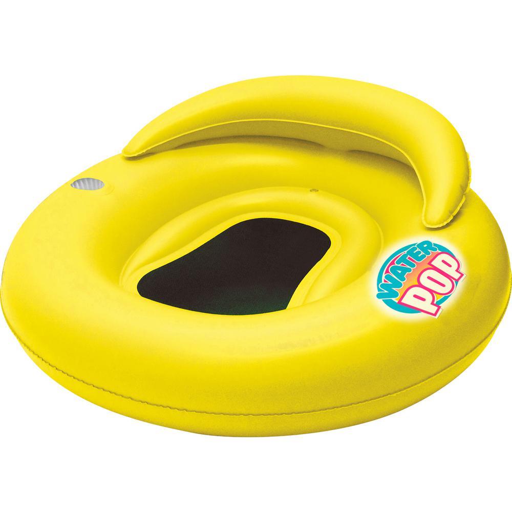 Yellow Water Pop Mesh Pool Lounge