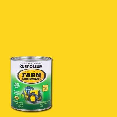 1 qt. Farm Equipment John Deere Yellow Gloss Enamel Paint (2-Pack)
