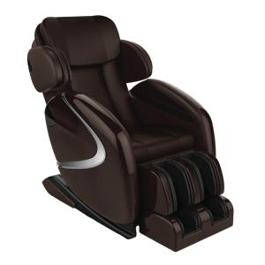 TITAN Osaki Brown Faux Leather Reclining Massage Chair Deals